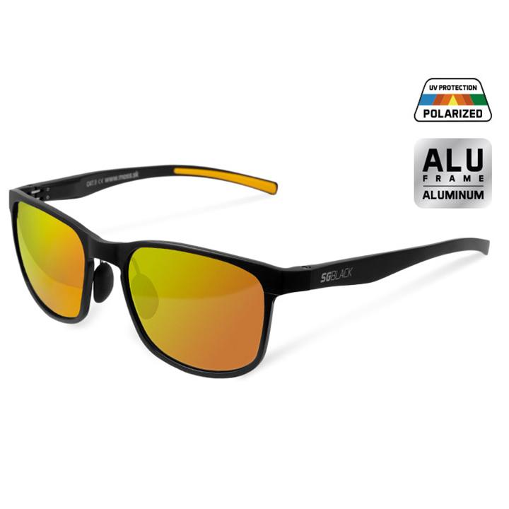 Polarizačné okuliare Delphin SG BLACK oranžové sklá ade373f3b28